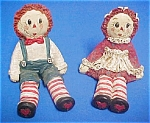 Raggedy Ann And Andy Figurines
