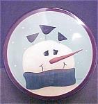 2001 Fiddlestix Snowman Tin