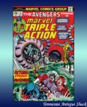 Marvel Triple Action #21 Avengers Captain America Hawkeye