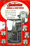 1952 Sunbeam Cooker And Deep Fryer Recipe And Care Book