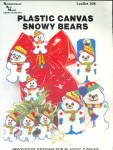 Plastic Canvas Snowy Bears, Polar Bears For Christmas