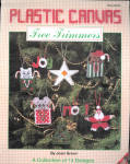 Plaid Ent. Plastic Canvas Tree Trimmers, Ornaments