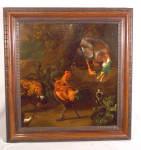 Melchior De Hondecoeter Farmyard Oil Painting C1675