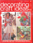 Decorating And Craft Ideas - April 1974