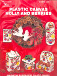 Plastic Canvas Holly And Berries