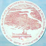 Bremerton Washington Souvenir Plate