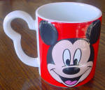 Red Mickey Mouse Mug
