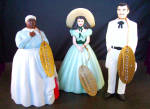 Gone With The Wind Set Of 3 Figures