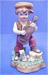 Vintage Ceramic Boy W/banjo