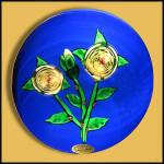 St. Louis 1976: Floral Paperweight