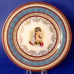 Rack Plate Empress Josephine Royal Vienna Napoleon Charger