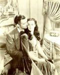 Rhett And Scarlett Gone With The Wind Large Post Card