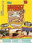 Topps Desert Storm Victory Series Cards And Stickers