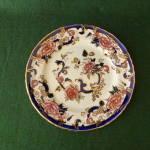 Masons Ironstone Plate, Mandalay Pattern.