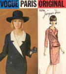 Vogue Paris Original 1376 Dress Pattern Jacques Heim