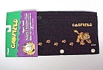 Mead Garfield Paaws Zipper Pencil Pouch Black Nylon New