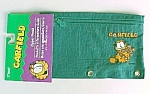 Garfield Paws Mead Zipper Pencil Pouch Turq Nylon New