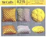 Vintage Mccalls 8215 Pattern Pop Smocked Pillows
