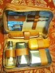 Leatherhathaway Men's Travel Grooming Set