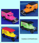 Kelloggs Cereal Matchbox Truck Set