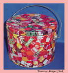 Christmas Pail Tin