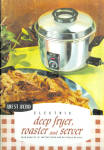 Instruction Book For West Bend Deep Fryer And Roaster