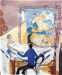 Salvador Dali Lithograph, The Doctor