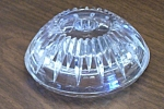 Pressed Glass Candle Holder 4.5 In.