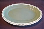 Harker Pate Sur Pate Teal Large Platter