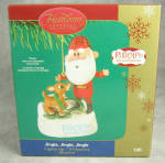 Carlton 2005 Santa And Rudolph Jingle Jingle Jingle Lights Up Rankin Bass