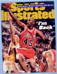 Sports Illustrated-march 27, 1995-michael Jordan
