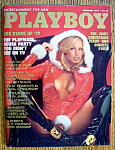Playboy Magazine-december 1977-ashley Cox
