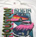 Vintage Houston 4th Annual Bug In T-shirt Xl New