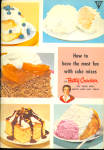 Betty Crocker - Quick And Easy Cakes With Mixes