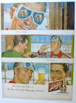 1950 Schlitz Beer With Two Men Talking In Lodge