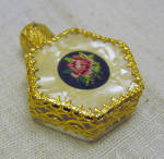Gorgeous Miniature Florentine Perfume Bottle