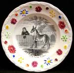 Visit To The Zebra Child's Plate