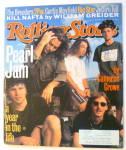 Rolling Stone Magazine October 28, 1993 Pearl Jam