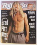 Rolling Stone Magazine December 1, 1994 Brad Pitt