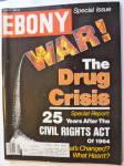 Ebony Magazine August 1989 War: Drug Crisis