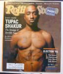 Rolling Stone Magazine October 31, 1996 Tupac Shakur