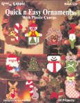 Quick N Easy Plastic Canvas Ornaments Booklet