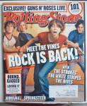 Rolling Stone Magazine September 19, 2002 The Vines