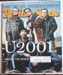 Rolling Stone Magazine January 18, 2001 U2001