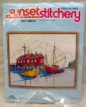Sunset Stitchery Safe Harbor Crewel Embroidery Kit