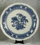 Masons Manchu Saucer Blue Transferware 1940s Ironstone