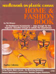 Needlework On Plastic Canvas Home And Fashion Book