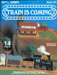 Train Is Coming - Train And Town In Plastic Canvas