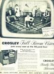 Crosley Family Theatre Television Ad 195