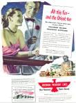 1948 American President Ship Line Ad Art Sip
